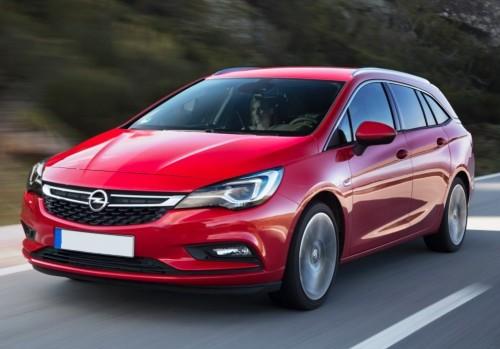 Samochód Opel Astra Kombi